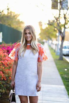 spring dress + waves // Devon Rachel