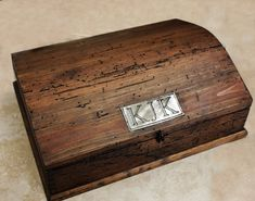 Rustic Treasure Chest Wood Box  Big Size by OurWeddingInvites, $149.00
