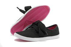 Adidas Relace Low W GS - Chaussure Adidar Pas Cher Pour Femme/Enfant Noir/Blanc/Rose