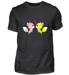 Liebende füchse Tolle Geschenidee T-Shirt Basic Shirts, Mens Tops, Fashion, Amazing, Moda, Fashion Styles, Fashion Illustrations