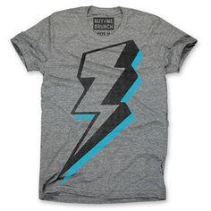 Lightning Bolt T-Shirt Men's now featured on Fab.