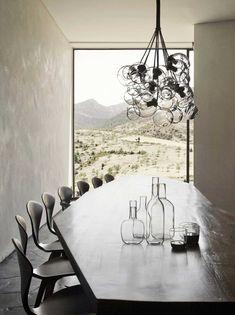 Minimalist mountain lodge designed by Studio Ko - Villa E (14)