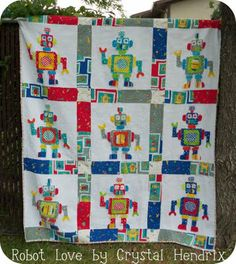 I need to make 3 more boy quilts, this could be a possibility, maybe.