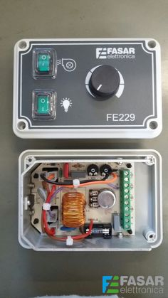 how it's done the FE229 speed regulator