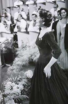 Lys Assia ESC 1956 dress - inspiration!