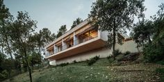 Wooden LLP home in the middle of the forrest by Alventosa Morell Arquitectes - CAANdesign | Architecture and home design blog