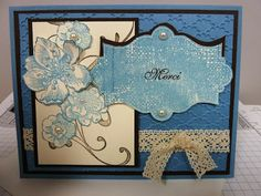 Passion scrapbooking: Everything Eleanor Stampin Up set vintage card