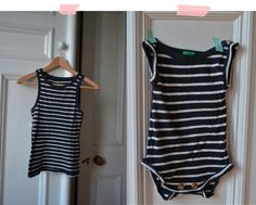 Refashion old clothes into baby clothes! This could be really fun to do with Barrett's old Tshirts