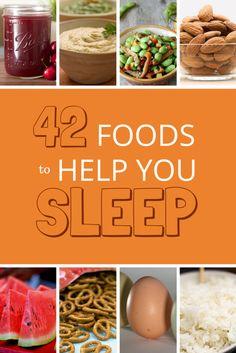 42 Foods That Help You Sleep