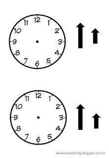 Didem Ögretmenin Etkinlikleri: SAAT SANAT ETKİNLİĞİ Montessori, Third Grade Math, Preschool, Clock, Crafts, Barn, Drawing, Activities, Watch