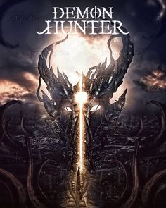 Demon Hunter Poster by Designations Jean Michel on CreativeAllies.com