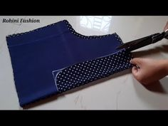 Beautiful blouse back neck lace design|cutting and stitching back neck - YouTube Beautiful Blouses, Lace Design, Breakfast Recipes, Stitching, Indian, Pocket, Youtube, Dresses, Lace Up