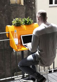 Great idea! Portable office