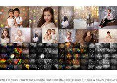 Bundle Christmas Bokeh Overlays – Kimla Designs & Photography