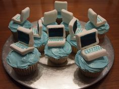 Apple Computer Cupcake by bkwheeler, via Flickr