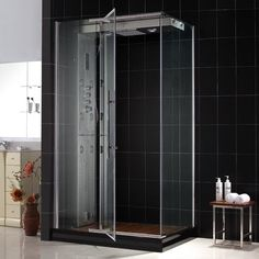 DreamLine MAJESTIC Steam Shower Enclosure with Left-Wall Installation SHJC-4036488L-01 $3,256.40