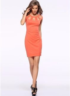 1386ea2e4a7e Hollow Out Slim Casual Bodycon Dresses – Simple Craze Skirt Outfits, Casual  Outfits, Woman