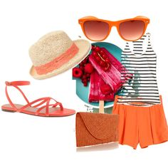 """Aperitivo in spiaggia"" by sara-biondi on Polyvore"