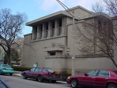 "Frank Lloyd Wright's Unity Temple was the ""first expression"" of modern architecture"