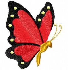 Free Butterfly Embroidery Designs