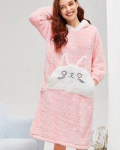 Night Suit, Night Gown, Couple Pajamas, Matching Pajamas, Hooded Dress, Cat Pattern, High Fashion, Plus Size, Stylish