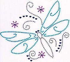 Iron On Rhinestone Crystal Transfer Fair Isles, Dandelions, Sparklers, Dragonflies, Diy Art, Crystal Rhinestone, Butterflies, Iron, Kids Rugs
