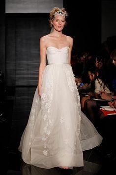 Reem Acra Bridal, otono-invierno 2012