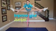 How to do a toe touch and how to improve it! How to do a toe touch and how to improve it! Cheer Moves, Cheer Stretches, Cheer Jumps, Splits Stretches, Dance Stretches, Cheerleading Tryouts, Cheer Stunts, Cheer Dance, Gymnastics Tricks