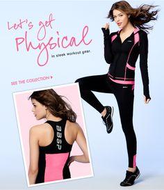 Bebe - New workout gear to make you feel fabulous. I LOVE BEBE WO GEAR!!!!!