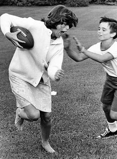 Eunice Shriver (1921 - ) American famous for her work with Special Olympics