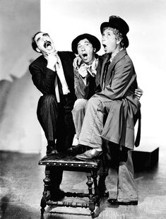 Marx Brothers, The Groucho, Chico Canvas Print / Canvas Art by Everett