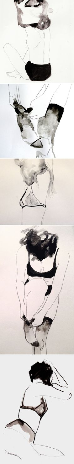 a peek into the sassy sketchbook pages belonging to London based artist/illustrator Alexandria Coe.