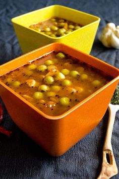 Green lentil soup with peas |giverecipe.com | #soup #greenlentil #peas Check this out at http://porkrecipe.org/posts/Green-lentil-soup-with-peas-giverecipecom-soup-64953