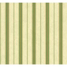 Sunworthy Green Peelable Vinyl Prepasted Classic Wallpaper