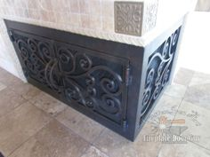 Beautiful handcrafted Outside Fireplace Doors to meet your needs ...