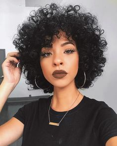 Pin by Lakariifrias on Pelo afro in 2019 Curly Hair Cuts, Short Curly Hair, Curly Hair Styles, Natural Hair Styles, Short Afro, Curly Afro, Big Afro, Afro Puff, Pelo Afro