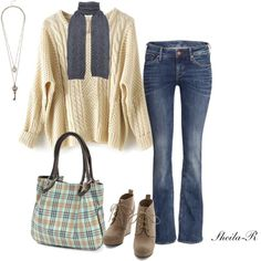 Warm fall/winter outfit-Over 40 Fashion