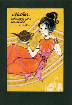 Vintage Hallmark Mother's Day Card