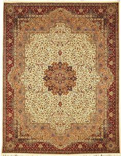 Beige Isfahan Carpet  http://www.alrug.com/4176