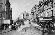 Rue Lepic / Rue des Abbesses à Montmartre