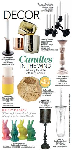 Light a few candles, turn off the light and relax. Clear your mind - this beautiful Drop Inn Candleholder from Carrol Boyes.
