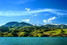 Taleghan Lake or #Taleqan Dam Lake Is The Big Lake Near The Tehran About 120 km In the north West - Iran