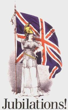 Britannia with the Union Flag