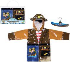 Pirate Rain Coat for children