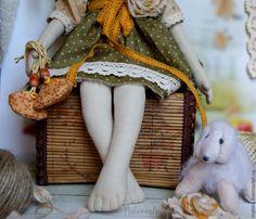 Купить Кукла авторская коллекционная Маргаритка - коллекционная кукла, кукла ручной работы, handmade