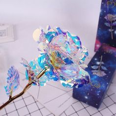 LED Galaxy Rose Flower Valentine's Day Gift Romantic Crystal Rose With Box Women for sale online Birthday Presents For Girlfriend, Creative Gifts For Girlfriend, Birthday Gifts, Romantic Gifts For Girlfriend, 24k Gold Rose, Cristal Rose, Unique Gifts, Best Gifts, Unique Presents