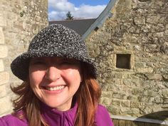 Hat 26 - not sure this really is a bucket hat - but its nice and easy to wear, given to me by my mum, lovely...