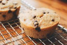 The Best Chocolate-Chip Banana Muffins