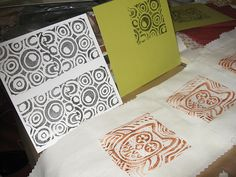 #stamped fabric and papers.    save on party and craft supplies for 2013 ..up to 70% off retail... #arts ..#crafts .. #sewing ... share .. repin .. like  :)    http://amzn.to/13iw3yo