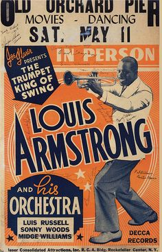 Louis Armstrong & His Orchestra 1940.